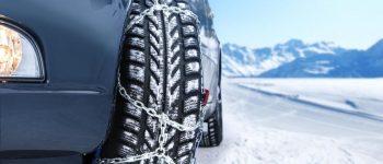 pneus neige chaines voiture